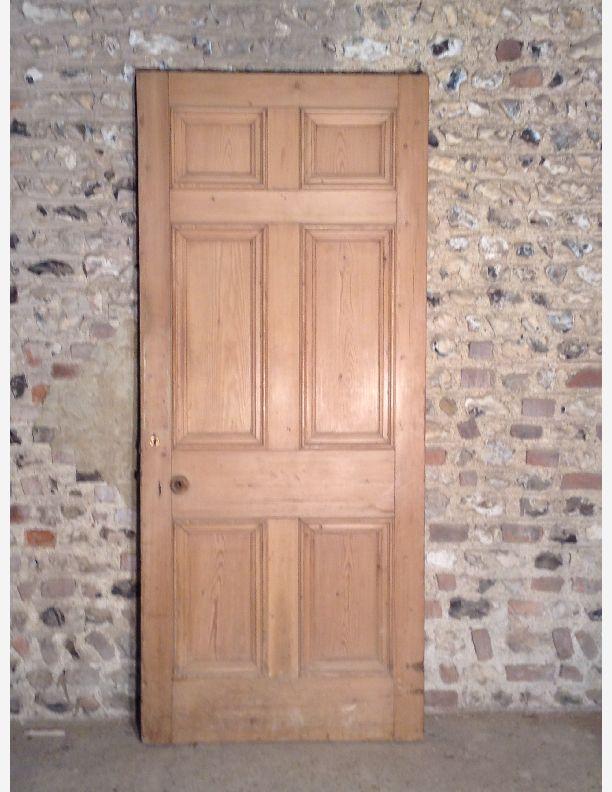 515 A 6 Panel Georgian Internal Door With Bolection Moulding