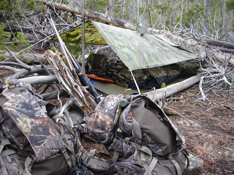 Elk Hunting Camp Elk Hunting Hunting Diy Bushcraft Shelter