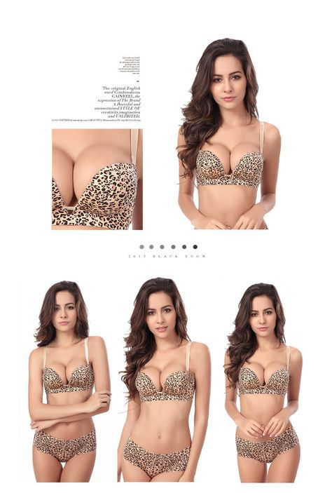 50503c57bf High-Quality leopard bra Shape Wear Hot Sexy Seamless Bra Sexy Super Push  Up Bras Underwear Intimates Bras For Women A B CUP   Sexiest clothes like  lingerie ...