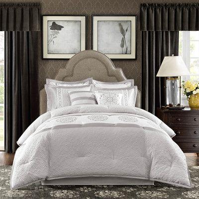 Madison Park Signature Arianne 8 Piece Comforter Set Comforter Sets Bedding Sets Furniture