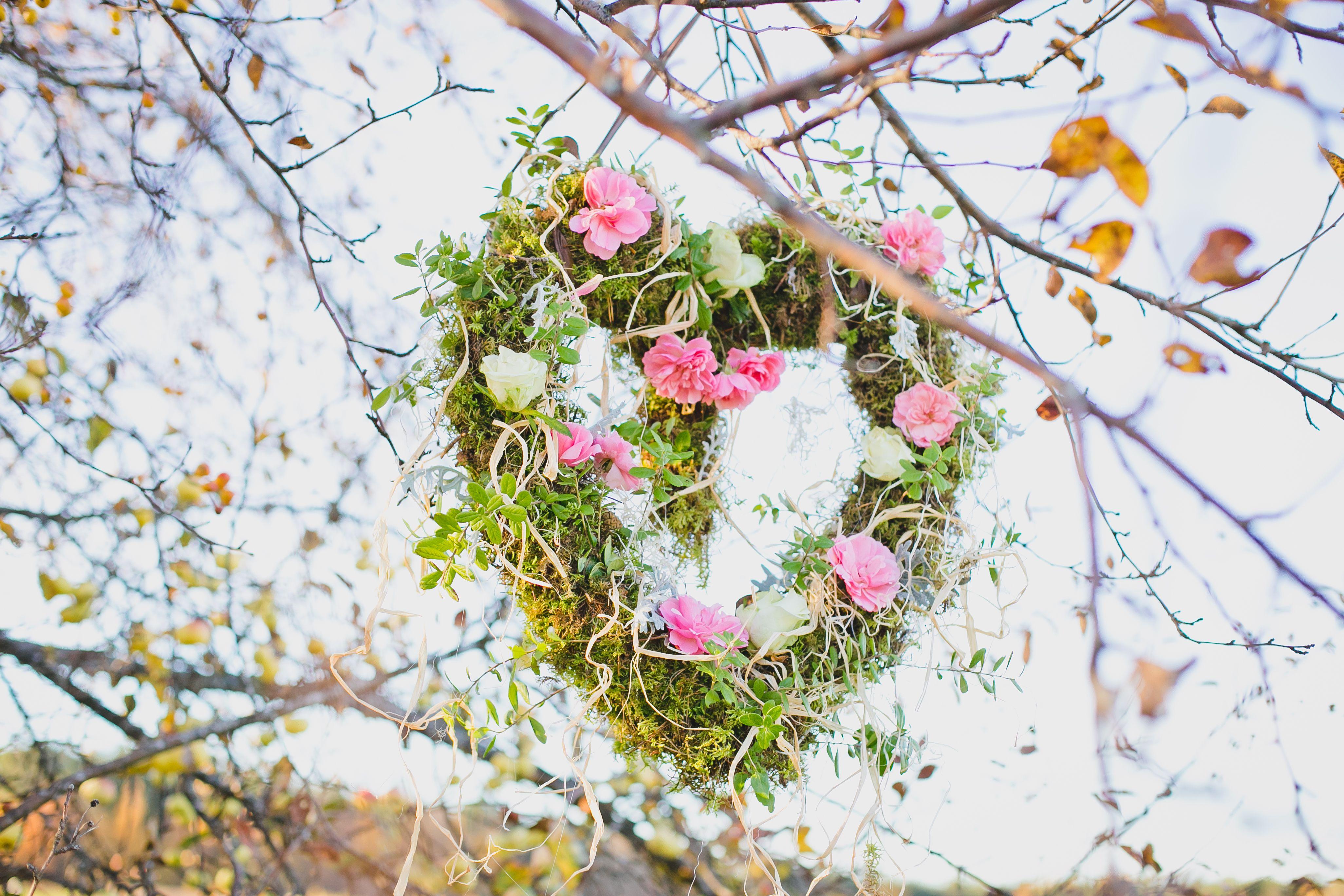 heart..roses..flower..moss #LOVE #bloomanddeco