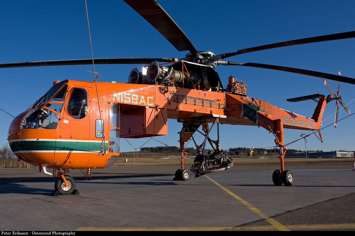 Elicottero S 64 F : Erickson s skycrane helicopters pinterest