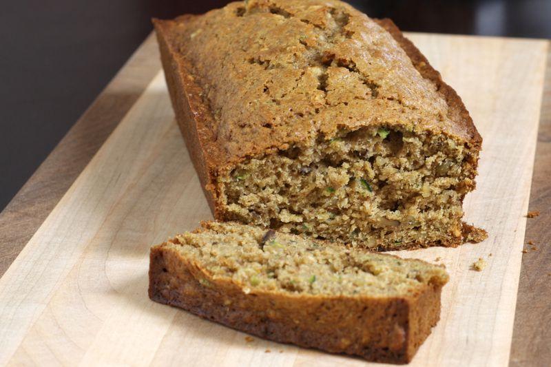 spiced whole wheat zucchini bread recipe  zucchini bread