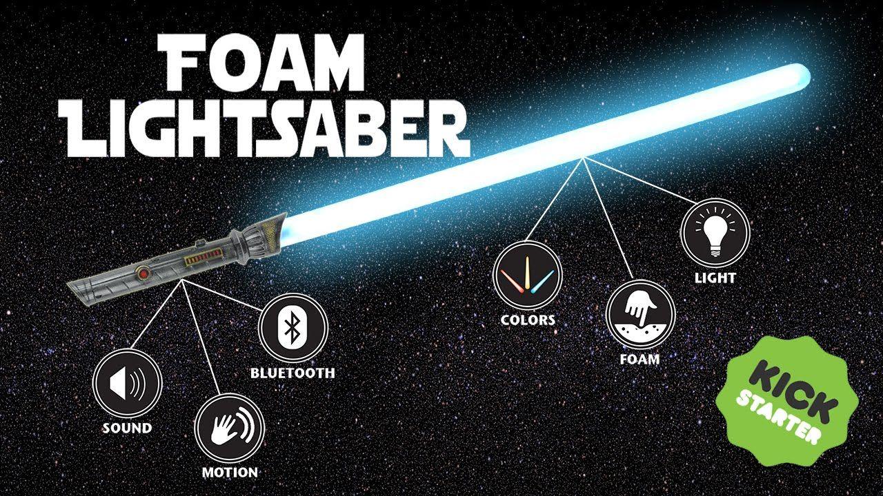 Calimacil Kickstarter Foam Lightsaber