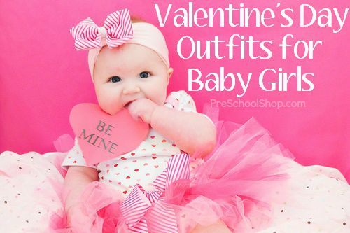 adorable valentines day outfits for baby girls valentinesday babyclothes via preschoolshop - Infant Valentines Day Outfits