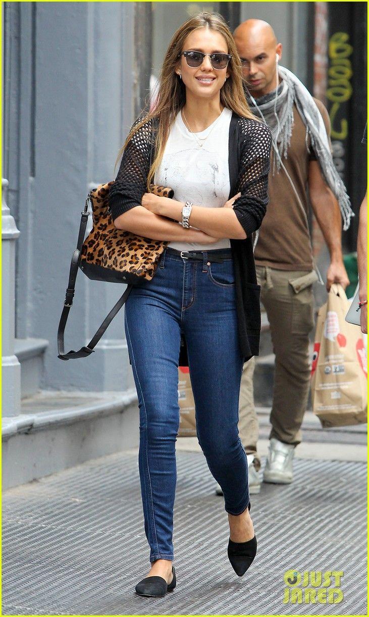 Pics For Jessica Alba Fashion Style 2013