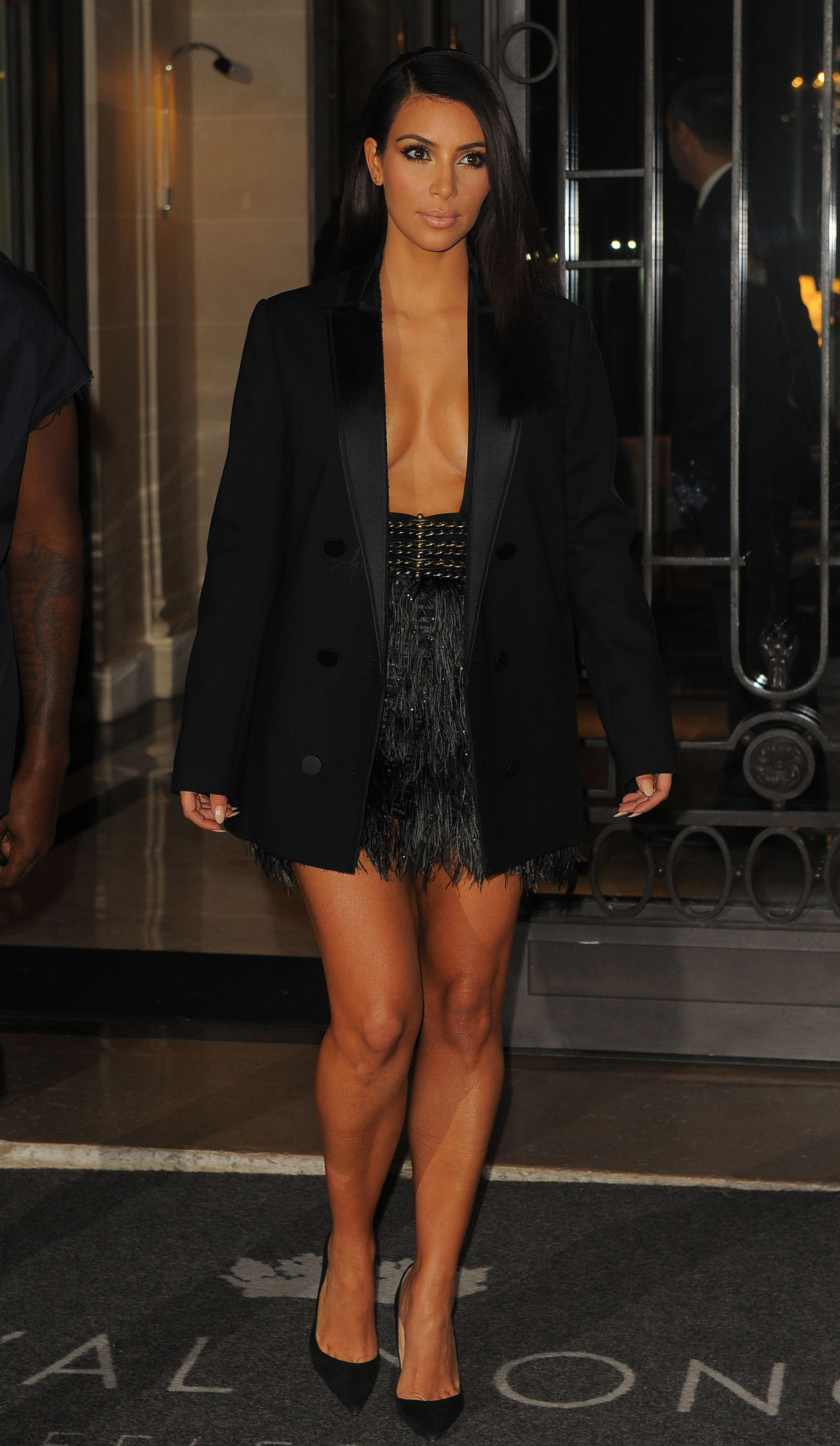 6c90ff5500 Image result for kim kardashian blazer dress