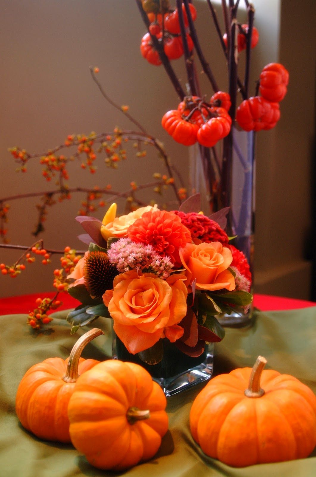Ideas about halloween flower arrangements halloween pinterest ideas about halloween flower arrangements izmirmasajfo