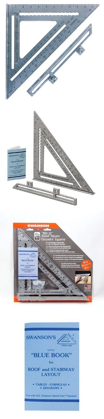 Details About Swanson Tool S0107 12 Inch Speed Square Layout Tool With Blue Book Speed Square Layout Blue Books