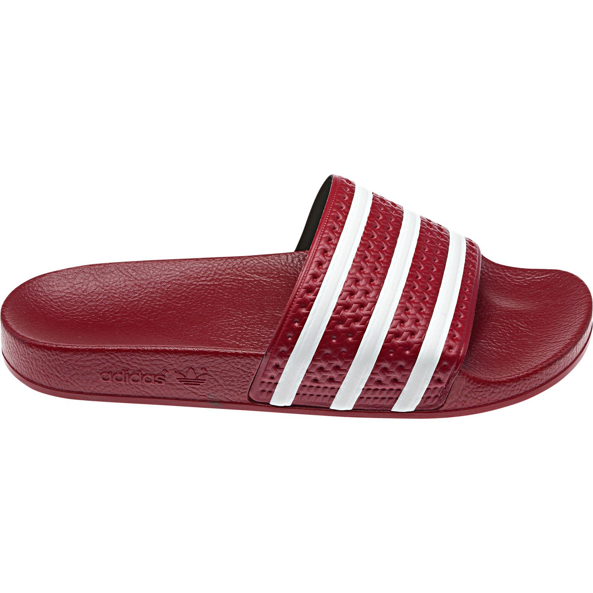 Adidas Adilette Slides rojo