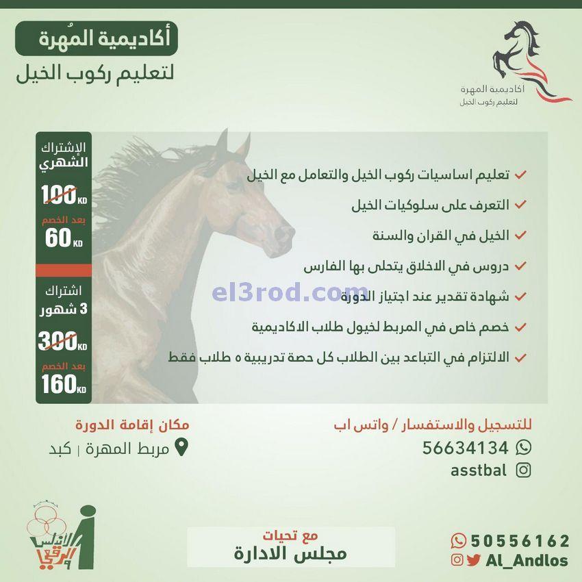 عروض جمعية الاندلس والرقعي التعاونية من 7 9 2020 Kuwait Horses