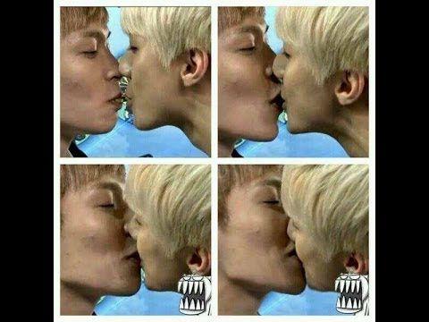 Pin By Stephanie On Kisses Kpop Kiss Kpop Boy Kpop