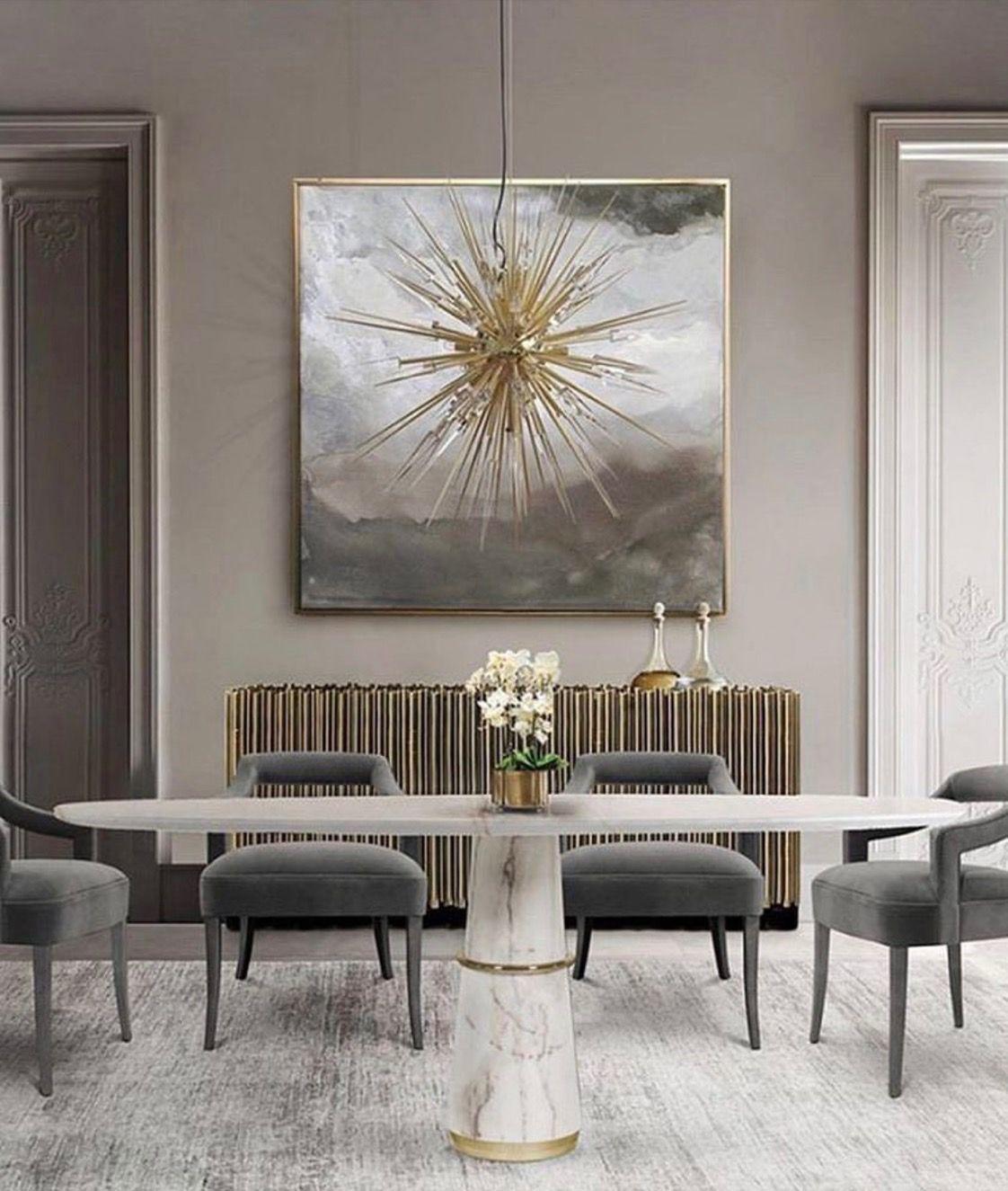 Trendy Design For Luxury Dining Room Decor Ideas You Must Know Discover More Room Design Details And Design I Domashnij Dekor Dizajn Doma Mebel Dlya Stolovoj