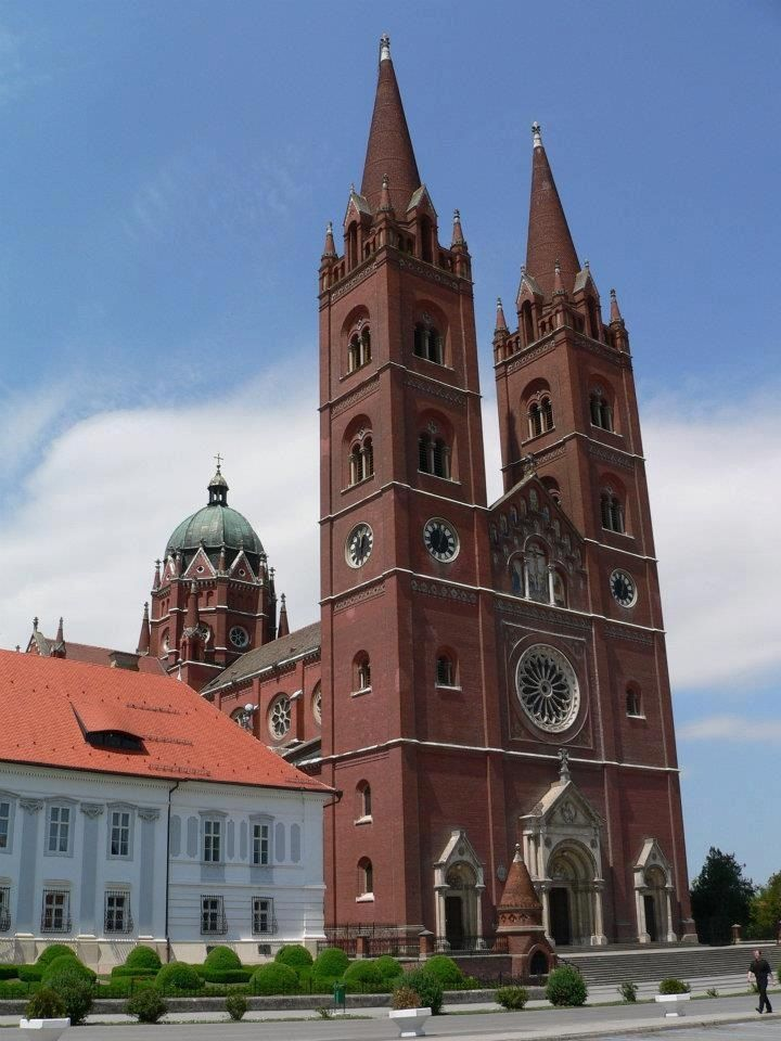 The St Peters Cathedral đakovo Croatia Architect Herman Bolle Cathedral Basilica Cathedral Croatia