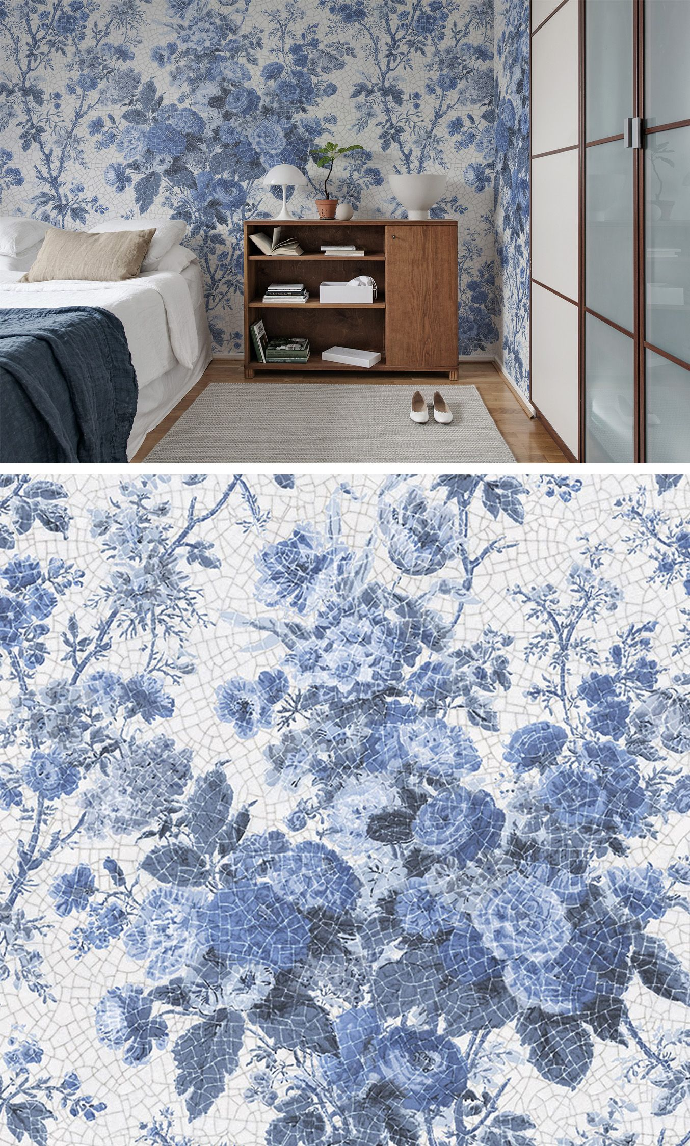 porcelain blue in 2019 tapeten f r 39 s schlafzimmer pinterest tapeten wohnzimmer blaue. Black Bedroom Furniture Sets. Home Design Ideas