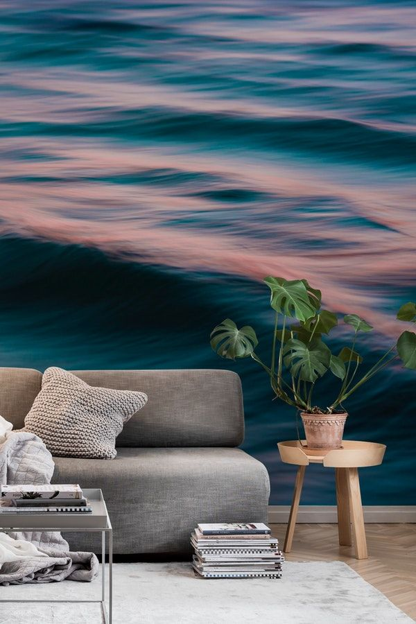 The Uniqueness of Waves XV Wall Mural / Wallpaper Water