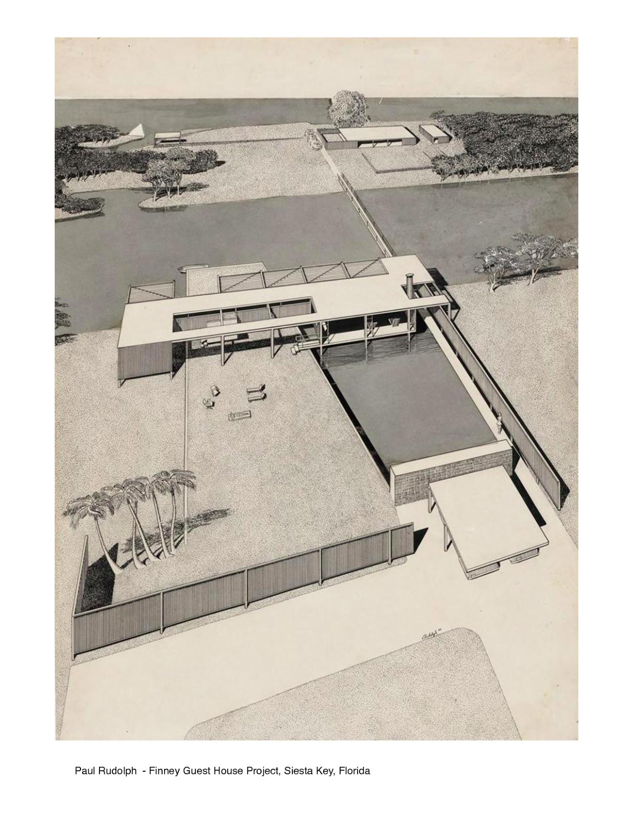 Paul Rudolph é hoje um nome desconhecido para a maioria dosarquitetos com menos de 40 anos de idade. E talvez os que o conheçam relacionem...