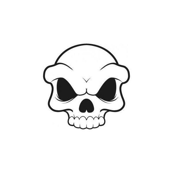 Simple Skull Drawings