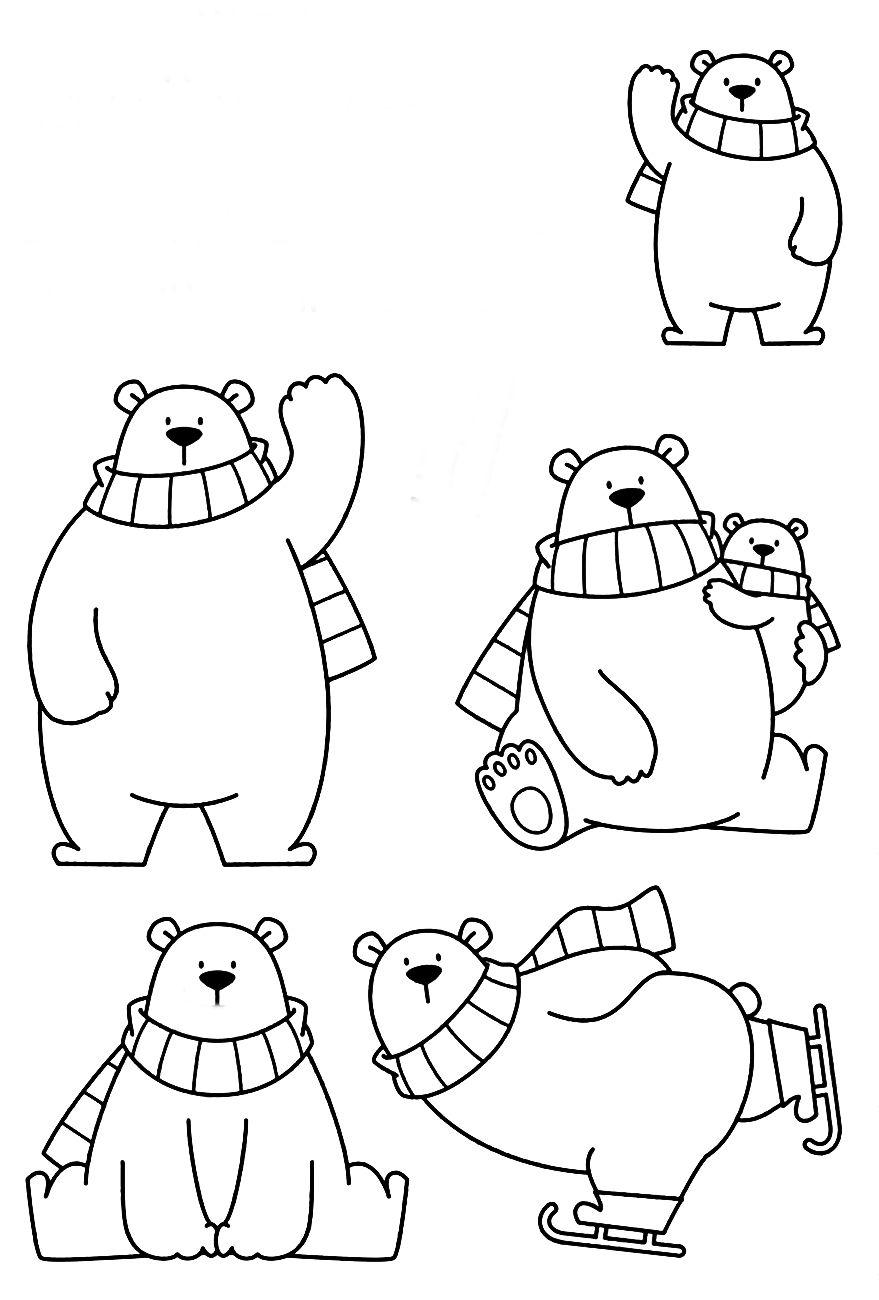 Riscos De Ursinhos Bears Teddy Bears And Pandas Desenho Urso