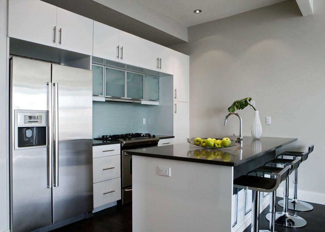Aluminum framed flip top cabinet doors. | Kitchen cabinets ...