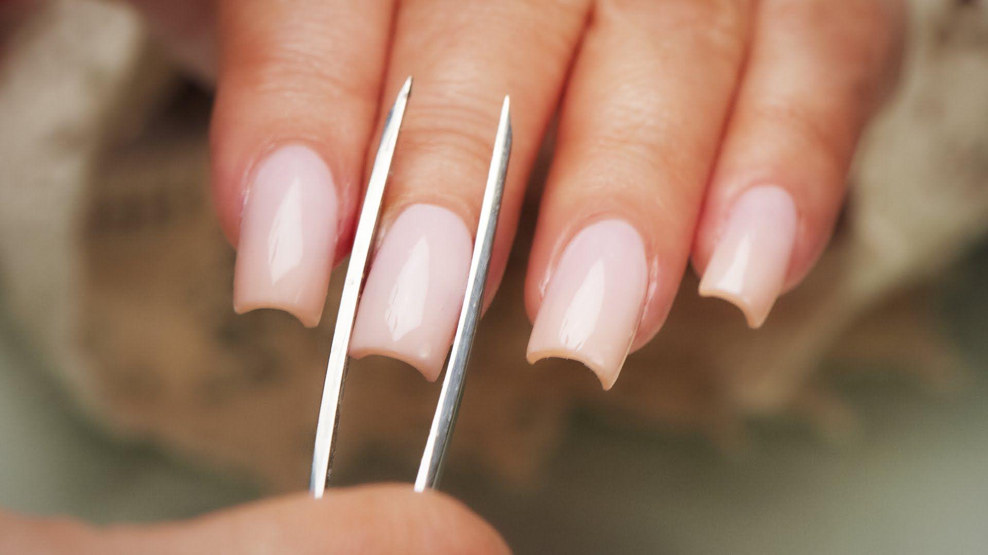 Pinching Acrylic Nails Step By Step Tutorial Youtube Diy Acrylic Nails Diy Nail Designs Acrylic Nails At Home