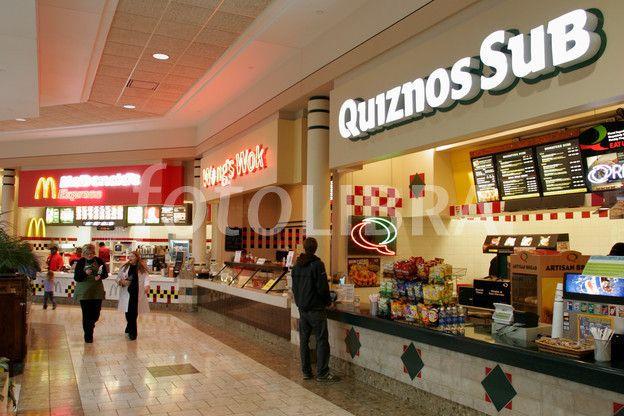 Brookfield square mall food court quiznos sub mcdonalds