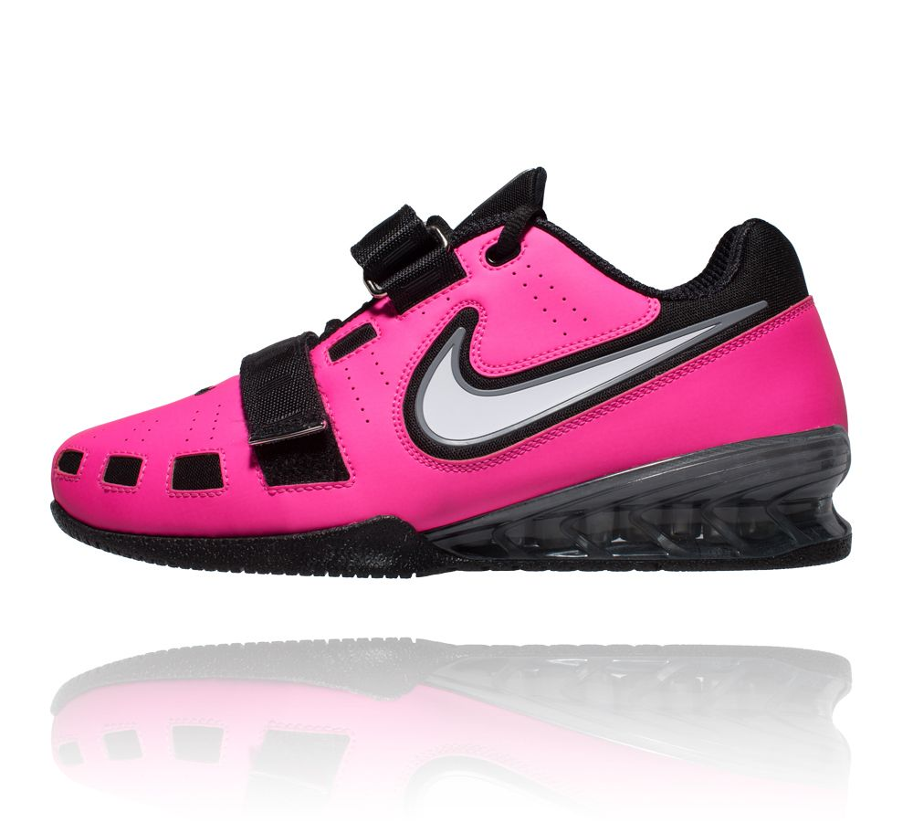Nike Romaleos 2 Weightlifting Shoes - Pink Blast White Blk Cool Grey ... 23a2f4cec9