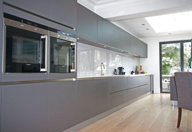 German kitchen design in high gloss Anthracite | mutfak fikir ...