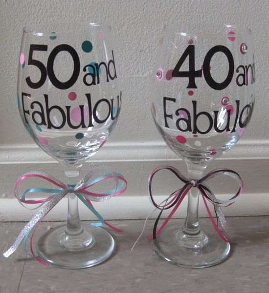 Cricut Projects With Vinyl Personalized Birthday Wine