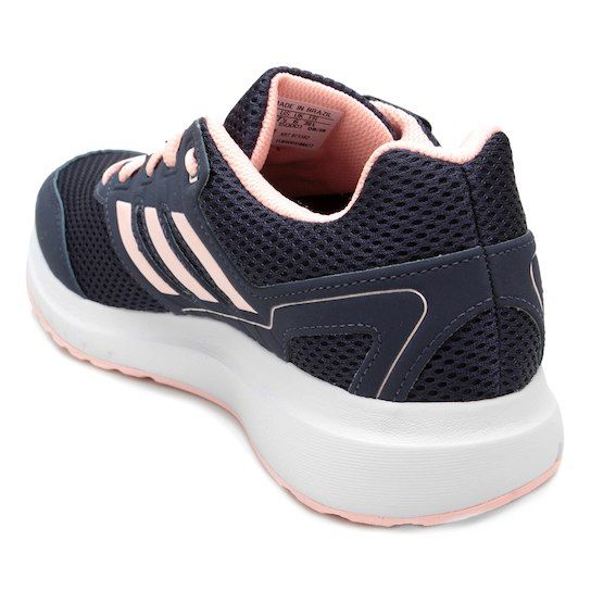 ccc00eb51a Tênis Adidas Duramo Lite 2 0 Feminino - Azul+Laranja
