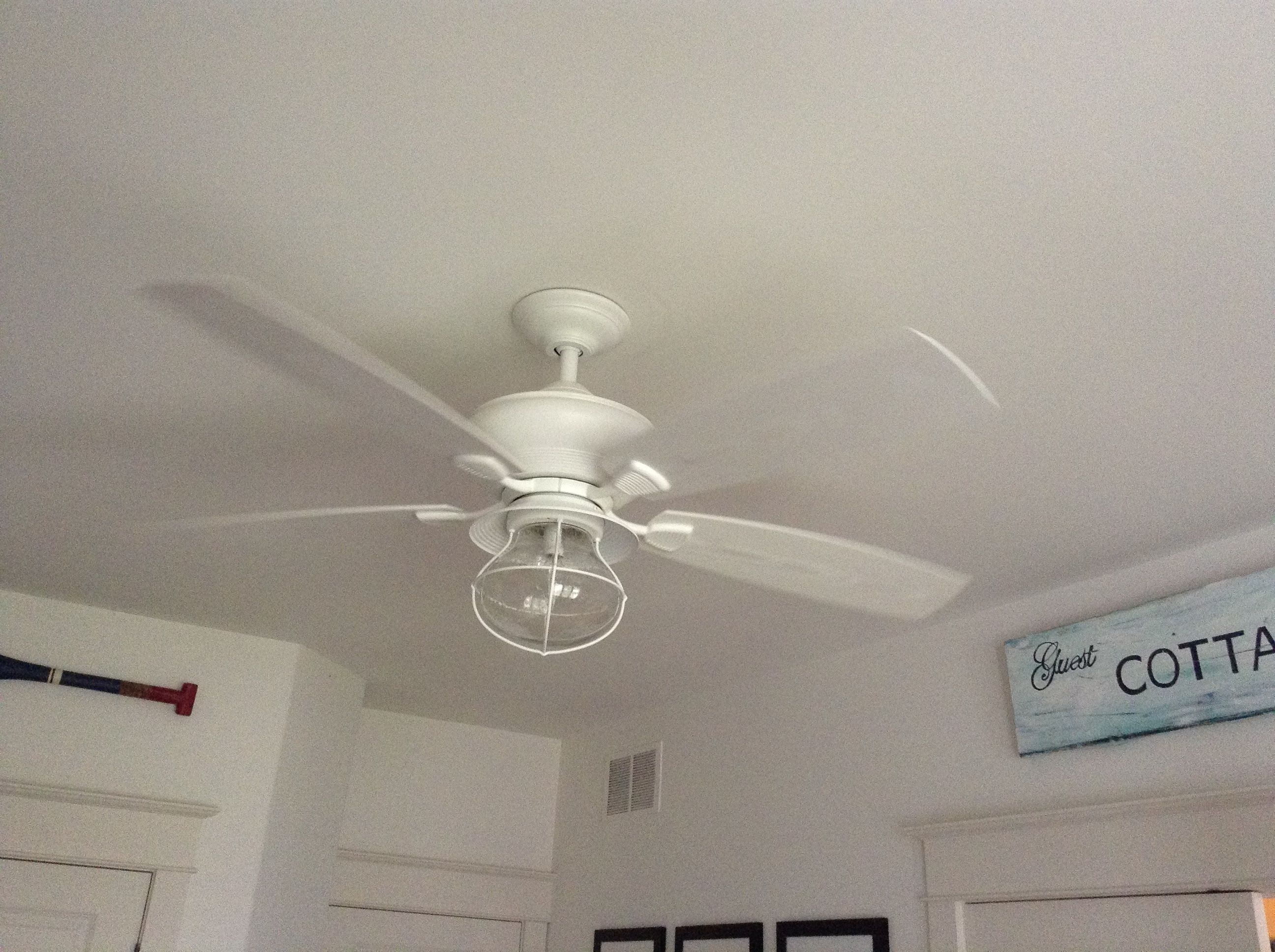 The perfect coastal ceiling fan For the Home