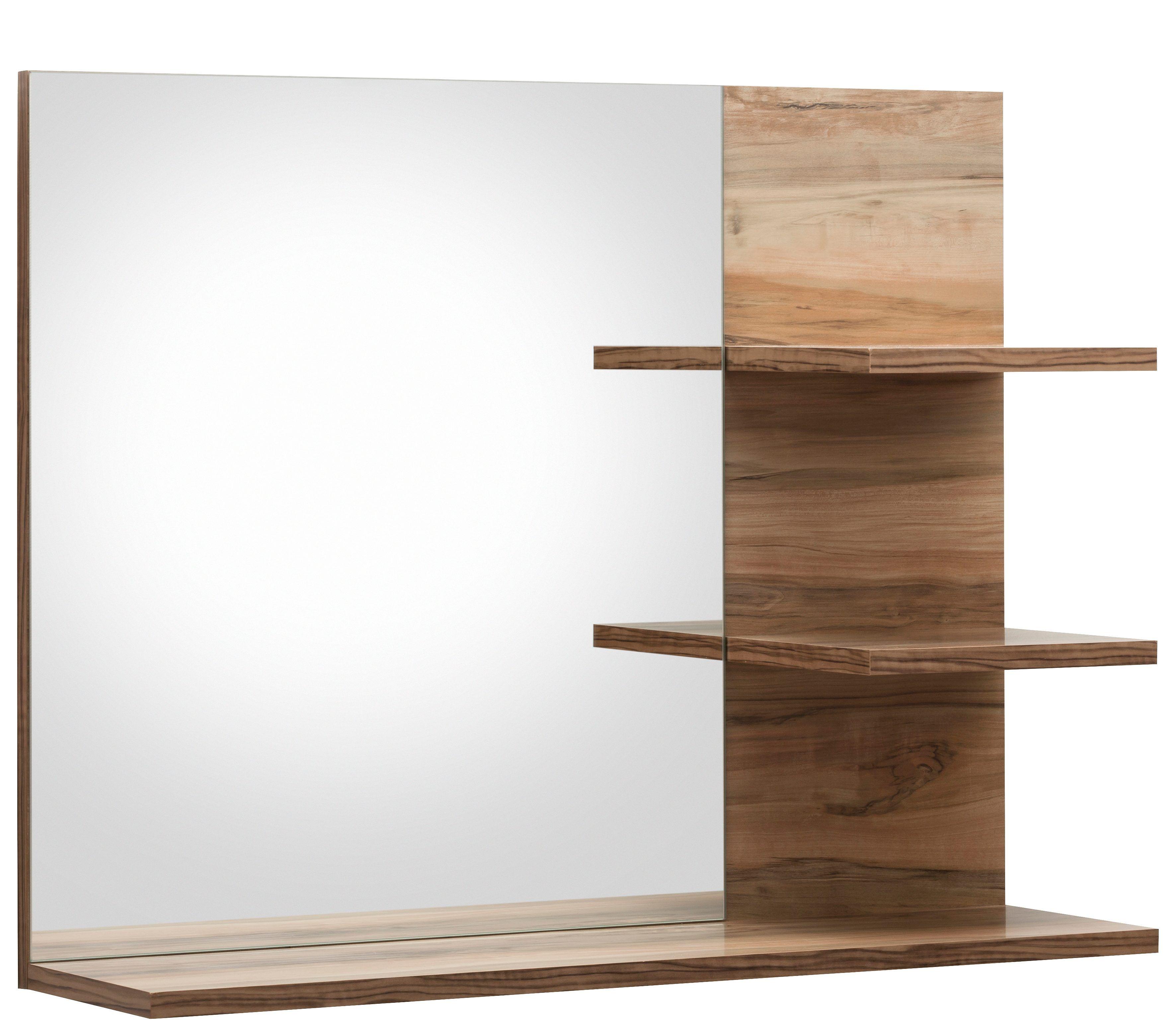 Badezimmerspiegel Holz Mit Regal Spiegel Mit Ablage Badezimmer