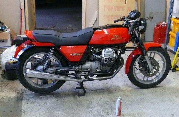 82 Moto Guzzi V50 Monza