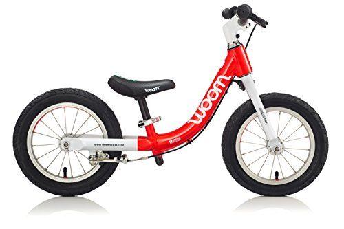 Woom Bikes Usa Balance Bike Red 12 One Size Woom Bike