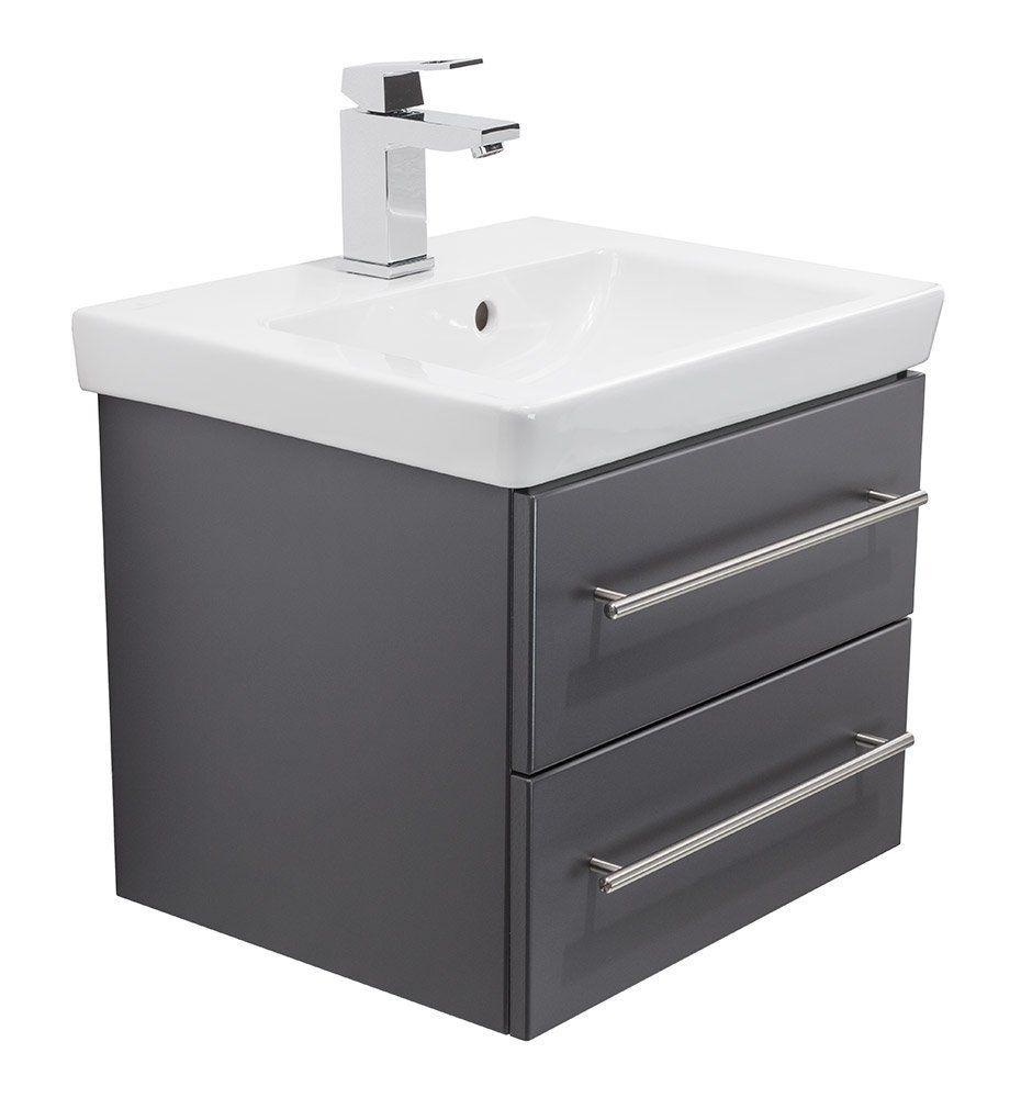 Waschbecken 50 Cm Mit Unterschrank