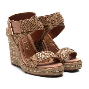 Sapatilhas sandalia anabela de mulher, compare preços e