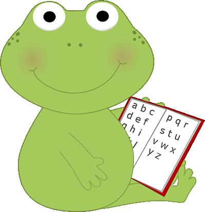 frog clip art frog reading clip art image frog sitting with a rh pinterest co uk Teacher Clip Art Black and White Teacher Reading Clip Art