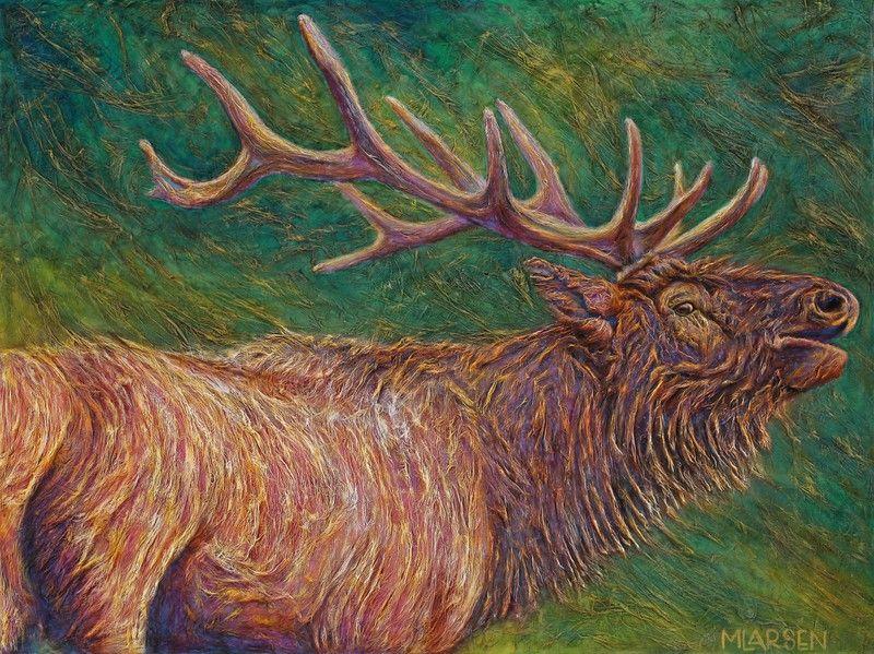 Michelle Larsen Artist, Poetry Painting, Boise, Idaho