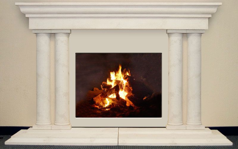 Grand Tuscan Cast Stone Fireplaces Sale Travertine Cheap Columns Affordable Lightweight Tuscan Column Marble Fireplaces Cast Stone Fireplace