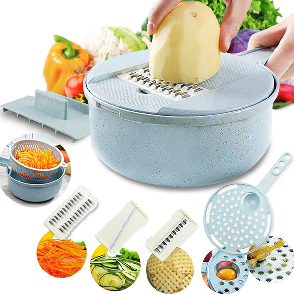 Kitchen Multifunctional Potato Onion Cutter Vegetable Slicer Dicer Food Chopper
