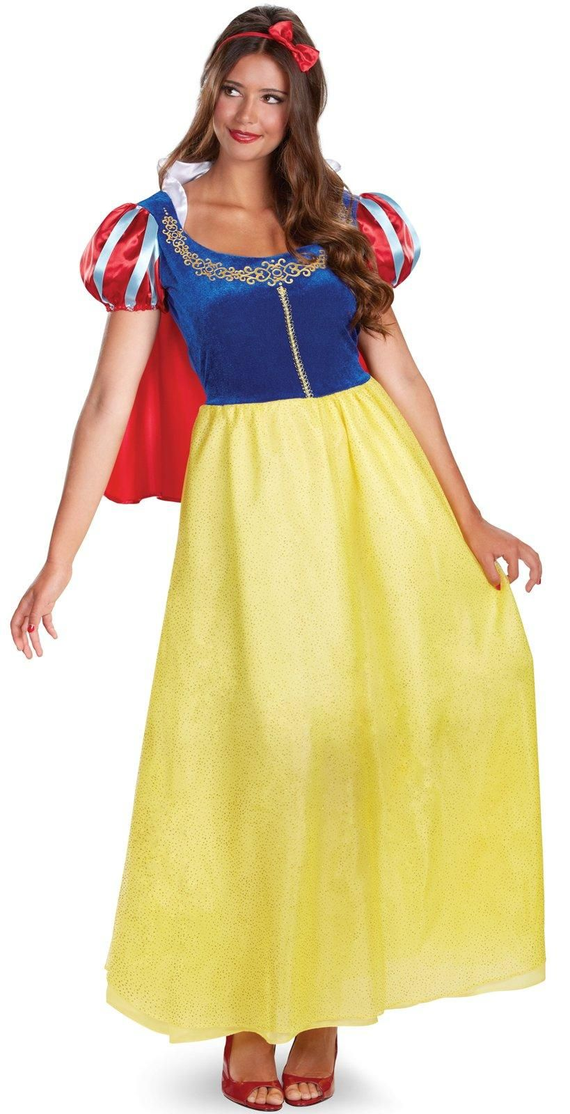 Disney Princess Snow White Deluxe Costume For Women from