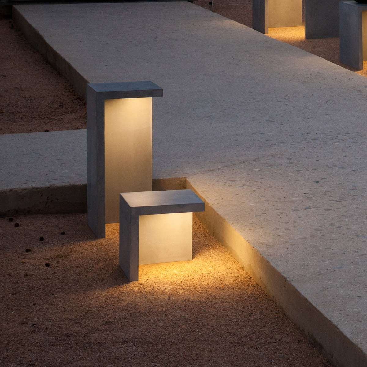Empty Led Outdoor Bollard Modern Lighting Ideas In