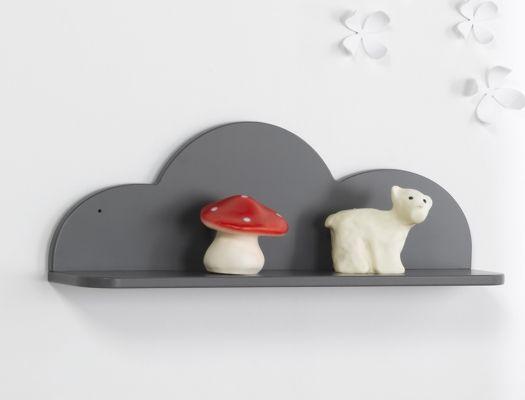etagre anthracite nuage - Etagere Enfant Deco