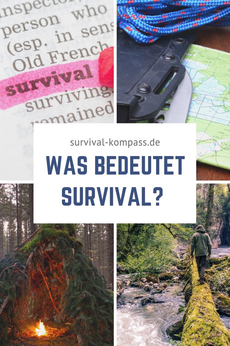 Was bedeutet Survival? [Grundausrüstung und Fähigkeiten