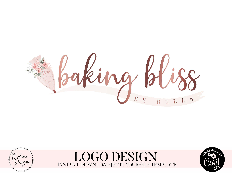 download cake logo design BAKING LOGO DESIGN, Cake logo, Logo design, Logo, Premade logo