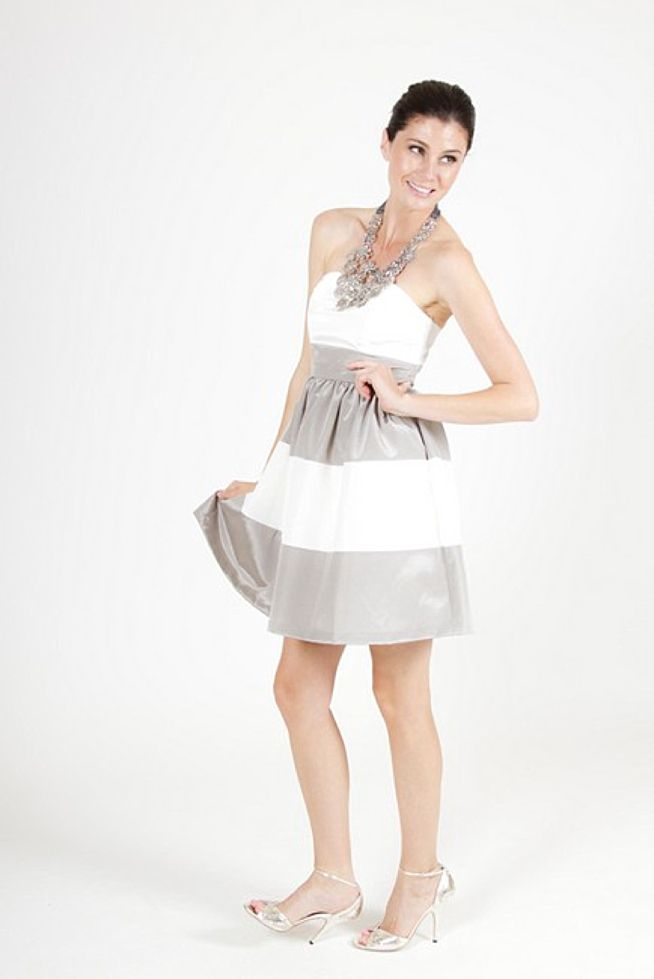 Lula Kate... Bridesmaid dresses except in black and champagne ...