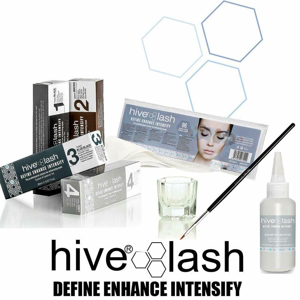 NEW Hive Professional Eyelash & Eyebrow Tint Starter Kit