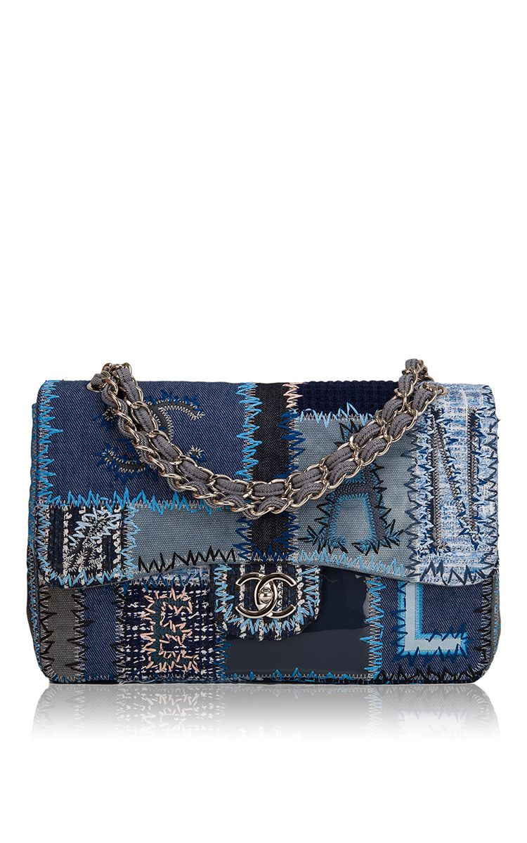 c24dfaddaf13 Limited Edition Chanel Quilted Patchwork Flap Bag - Preorder now on Moda  Operandi