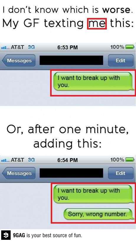 9GAG - Sorry, wrong number.