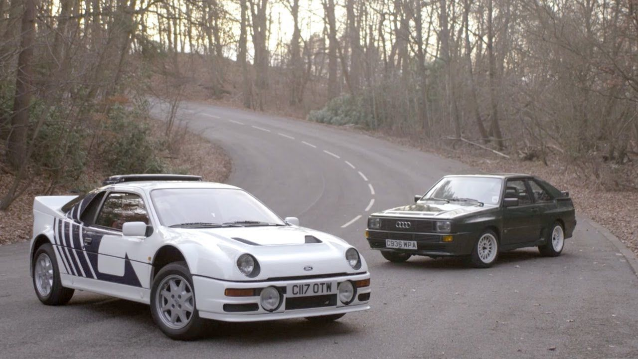 Group B Worship Ford Rs200 And Audi Sport Quattro Chris Harris